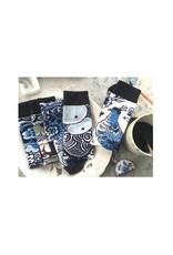 ON Socks Sokken Delft Blue 40-46