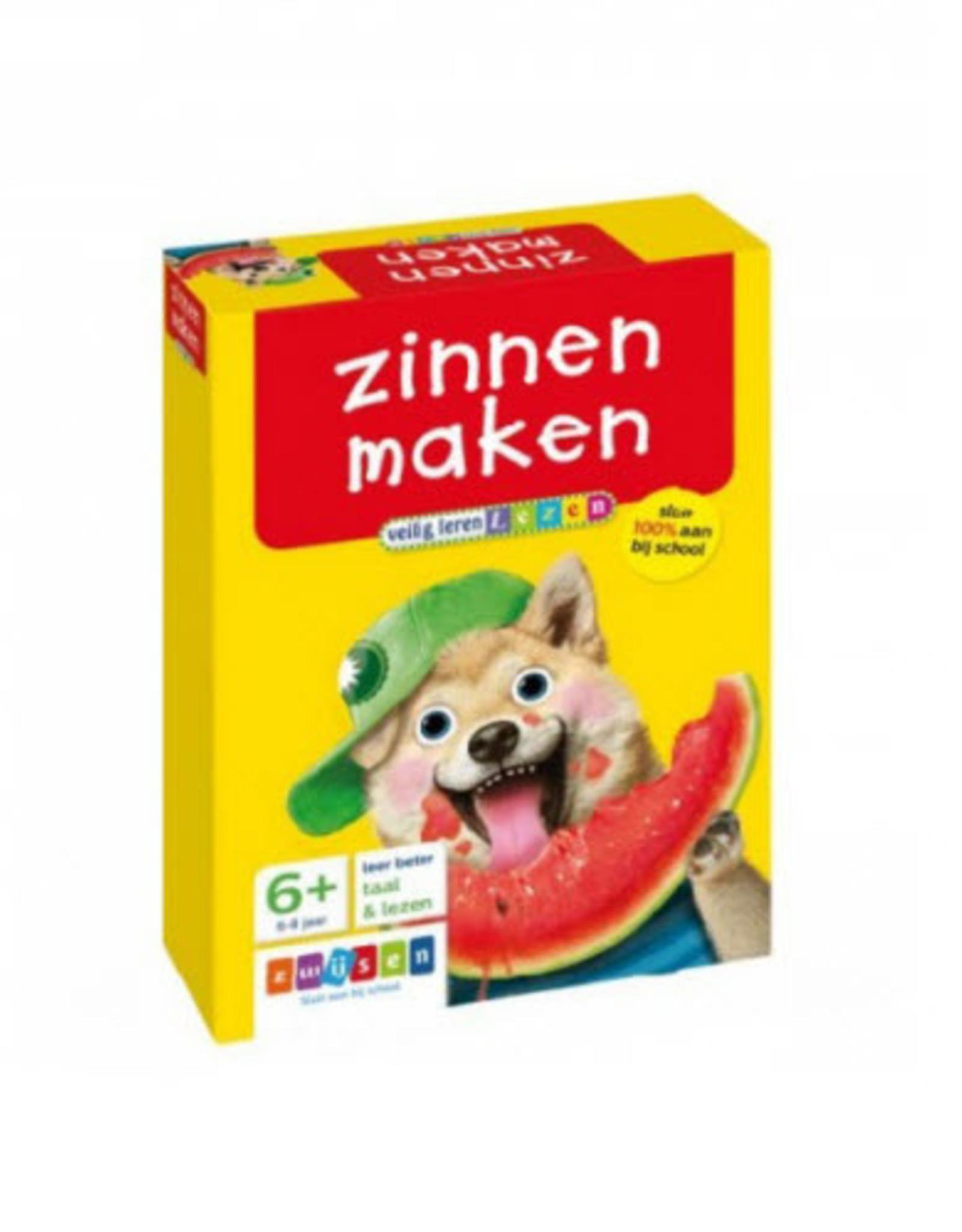 Uitgeverij Zwijsen Veilig Leren Lezen Zinnen Maken 6+