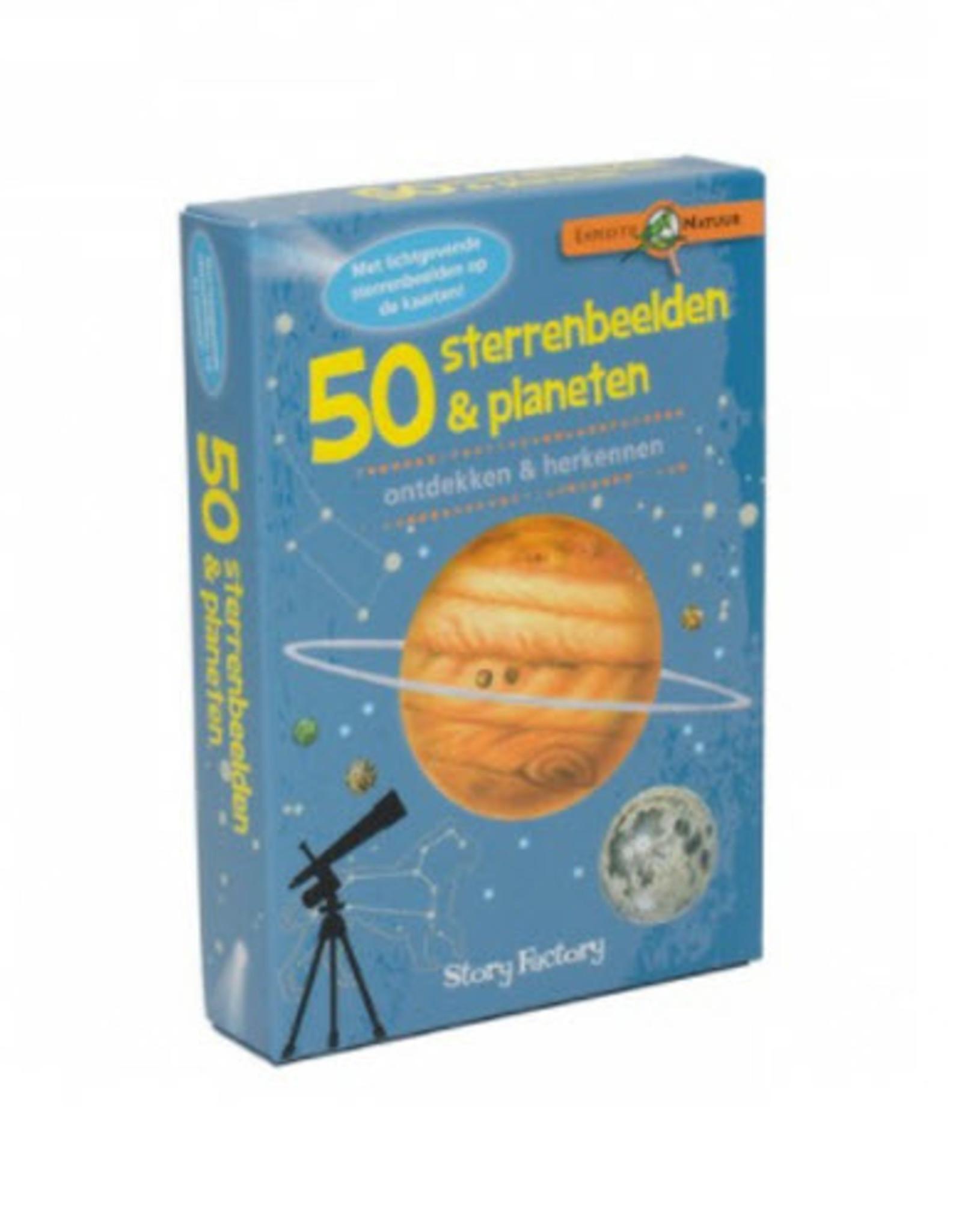Boosterbox Spel 50 Sterrenbeelden en Planeten