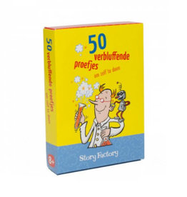 Boosterbox Spel 50 Verbluffende Proefjes 8+