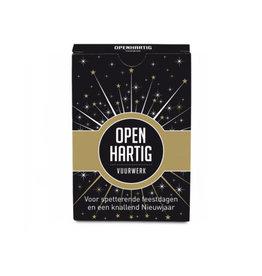 Openup Openhartig Vuurwerk