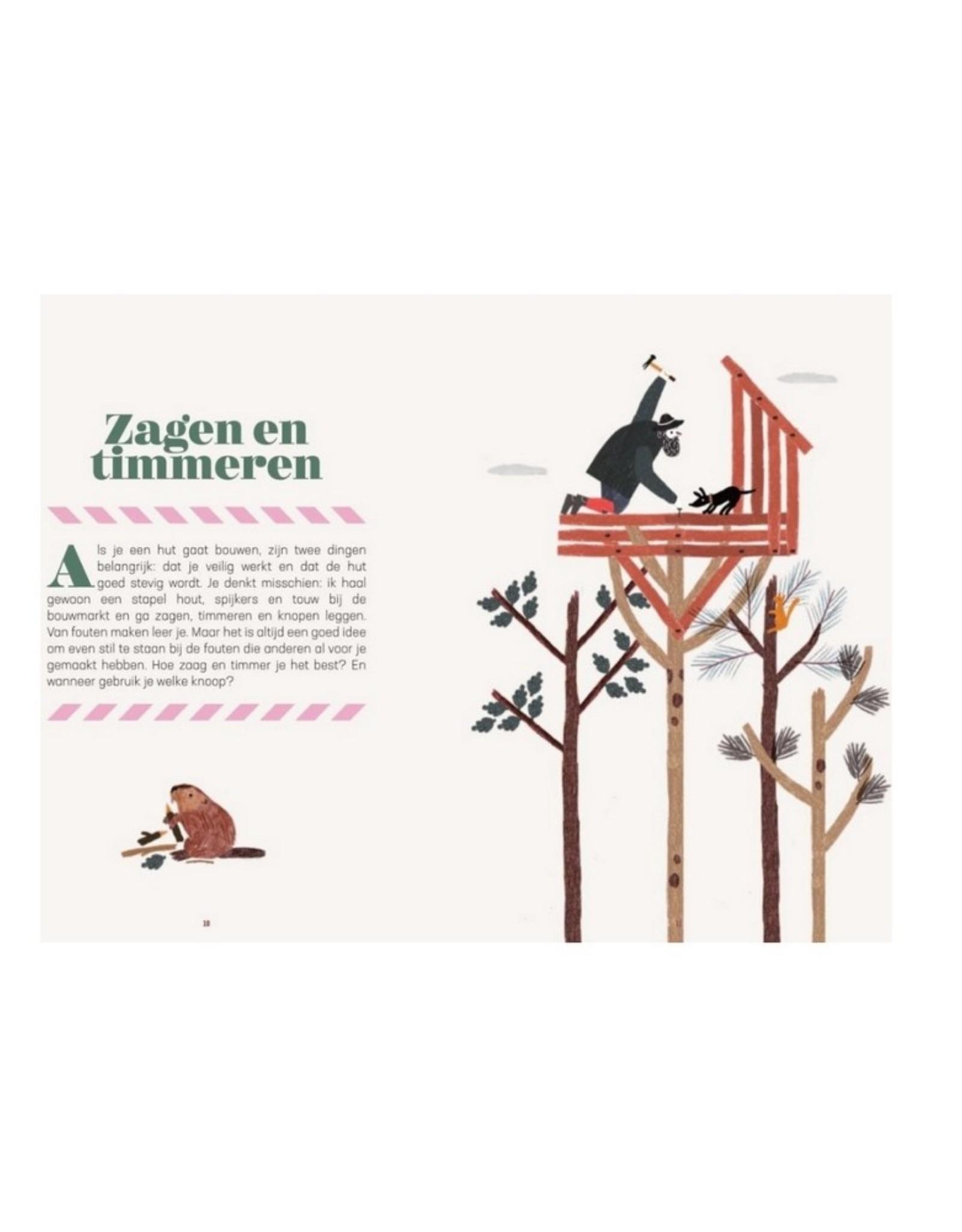 Uitgeverij Snor Outdoor Kids Huttenbouwen