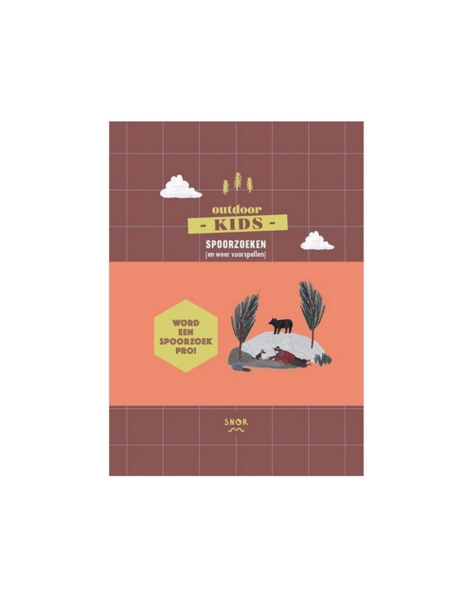 Uitgeverij Snor Outdoor Kids Spoorzoeken