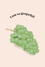 HAVA Creations Kaart met enveloppe Grapeful