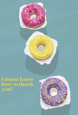 HAVA Creations Kaart met enveloppe Donut