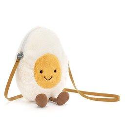 Jellycat Tasje Amuseable Happy Boiled Egg Bag