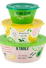 Derriere la Porte Salade Set 3 stuks Tchin Tchin les Copines