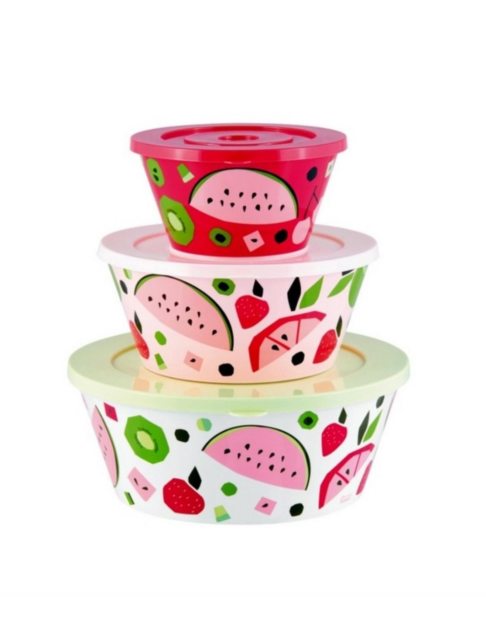 Derriere la Porte Salade Set 3 stuks Tutti Frutti