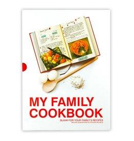 Suck UK My Family Cookbook Red