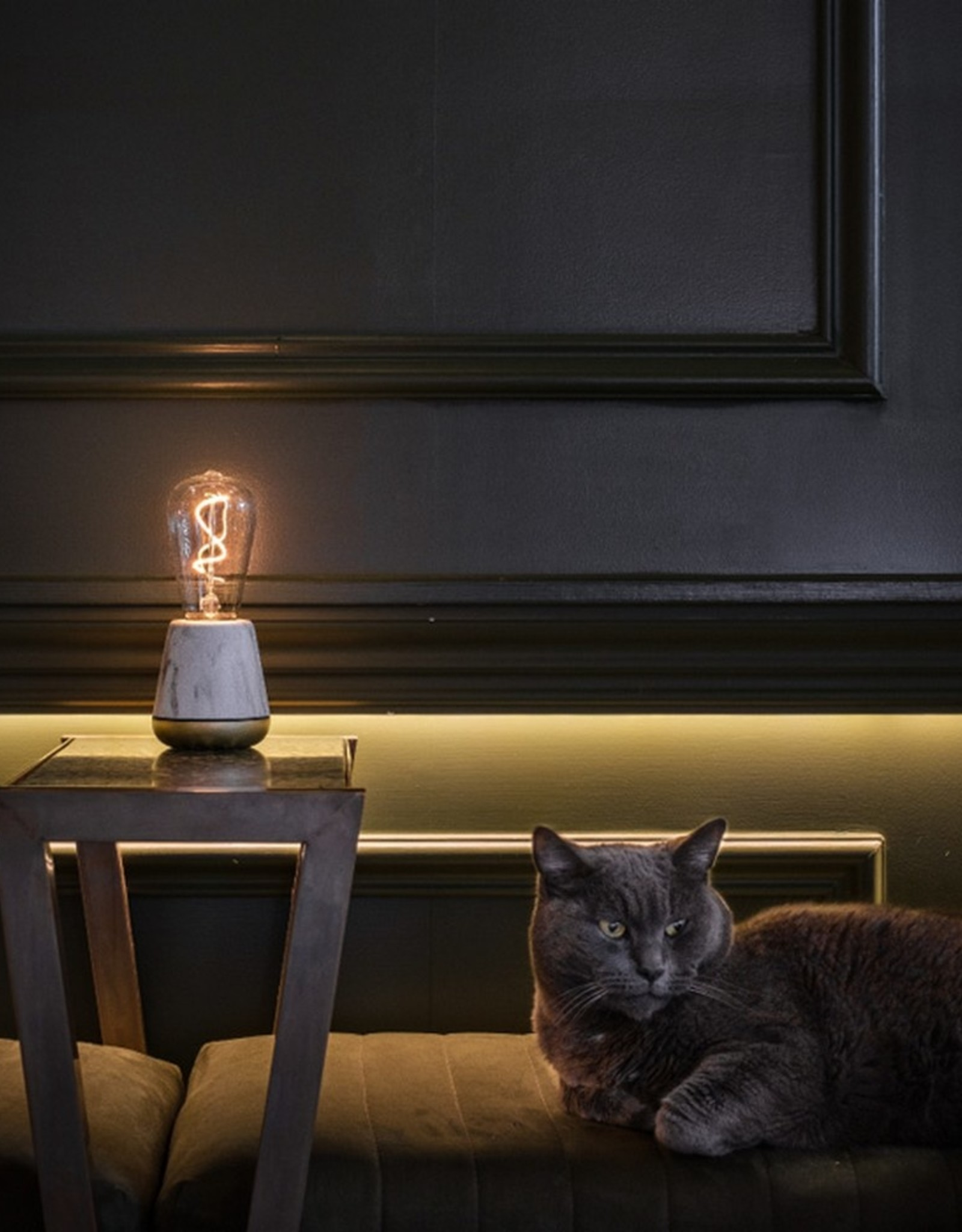 Humble Humble One Tafellamp Black Wood