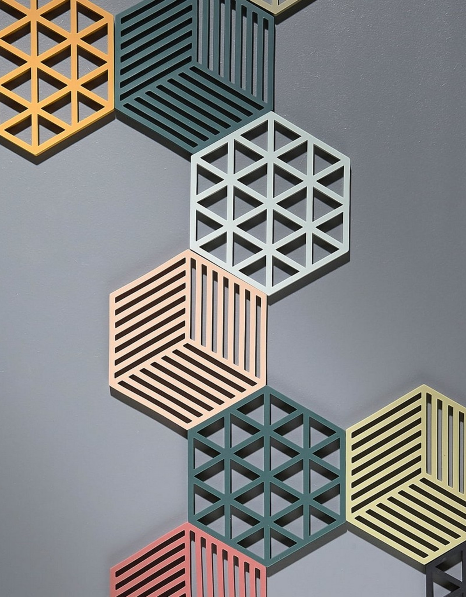 ZONE Denmark Pannenonderzetter Hexagon Desert