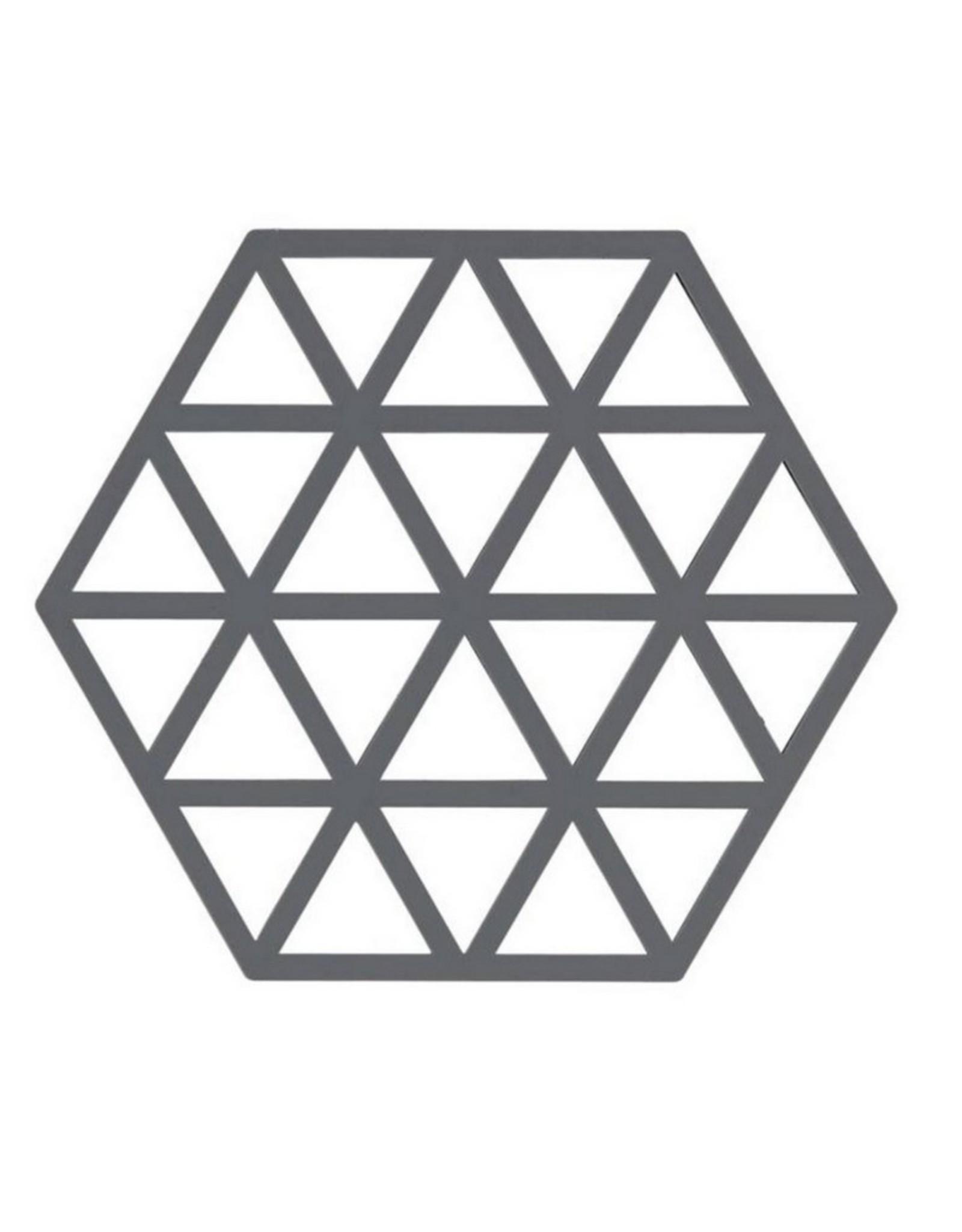 ZONE Denmark Pannenonderzetter Triangles Cool Grey
