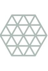 ZONE Denmark Pannenonderzetter Triangles Nordic Sky