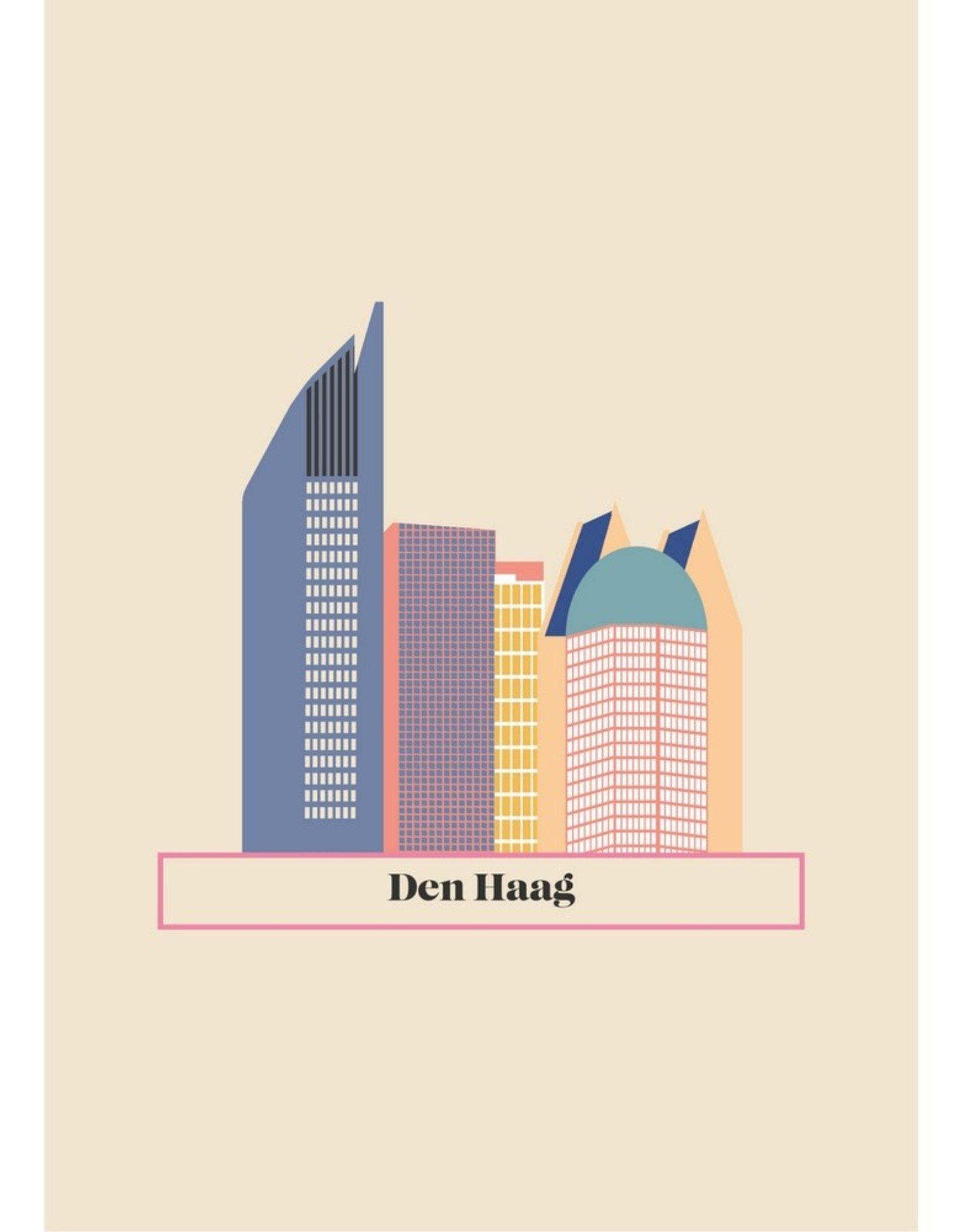 HAVA Creations Kaart met enveloppe Den Haag