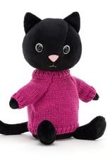 Jellycat Knuffel Knitten Kitten Fuschia