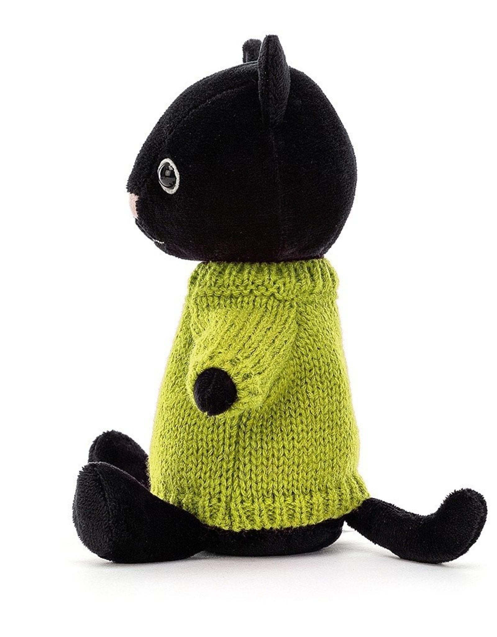 Jellycat Knuffel Knitten Kitten Lime
