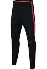Nike Nike squad broek zwart/rood kids