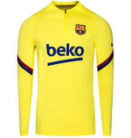 Nike Nike Ziptop FCB geel