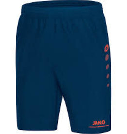 Short striker blauw/flame