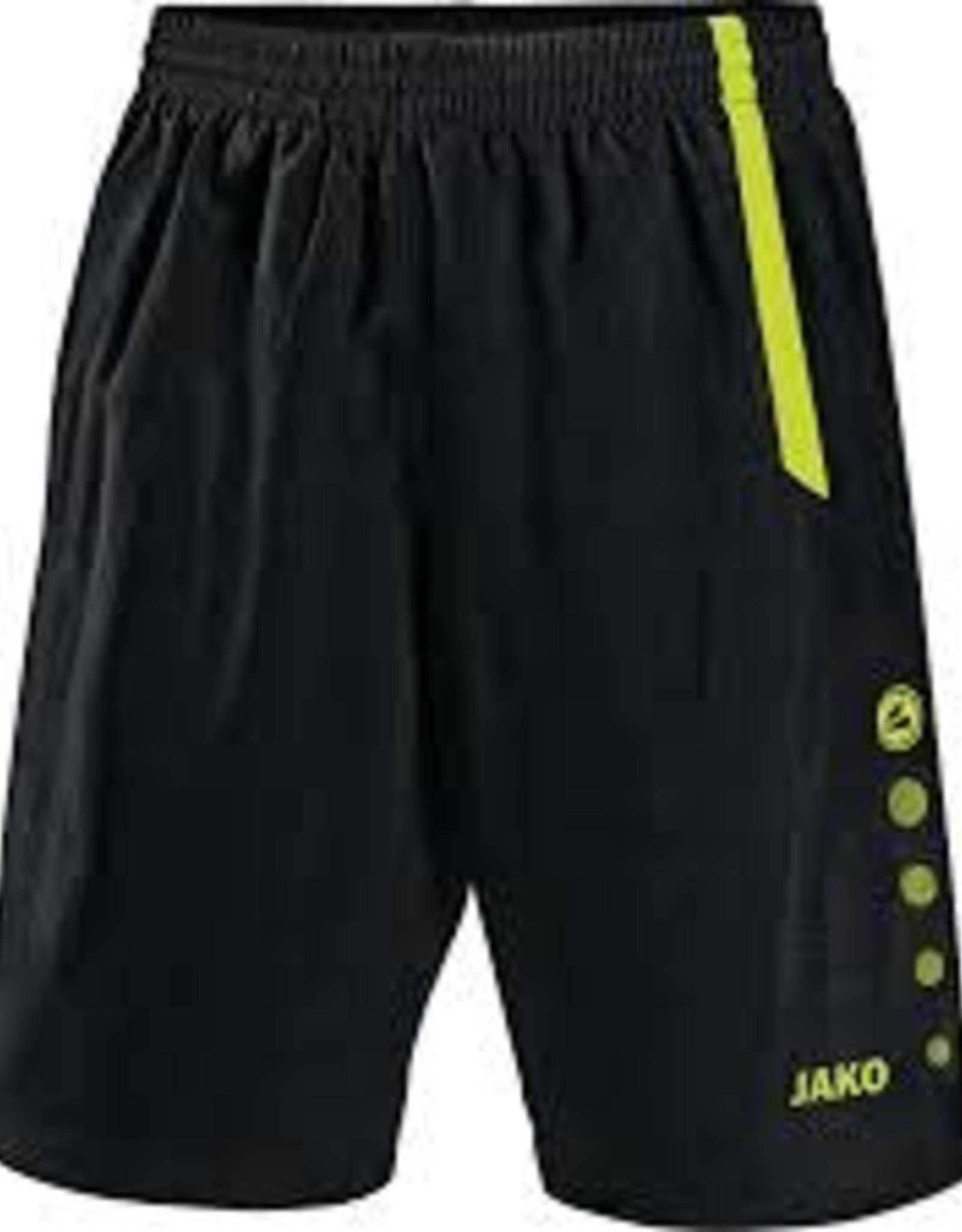 short turin zwart/fluo L