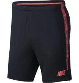 Nike short jr zwart/rood
