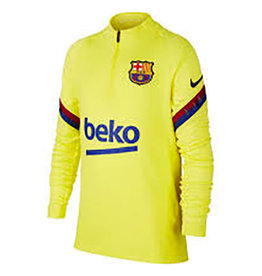 Nike Fcb trui geel