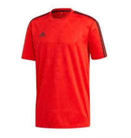 Adidas T-shirt rood