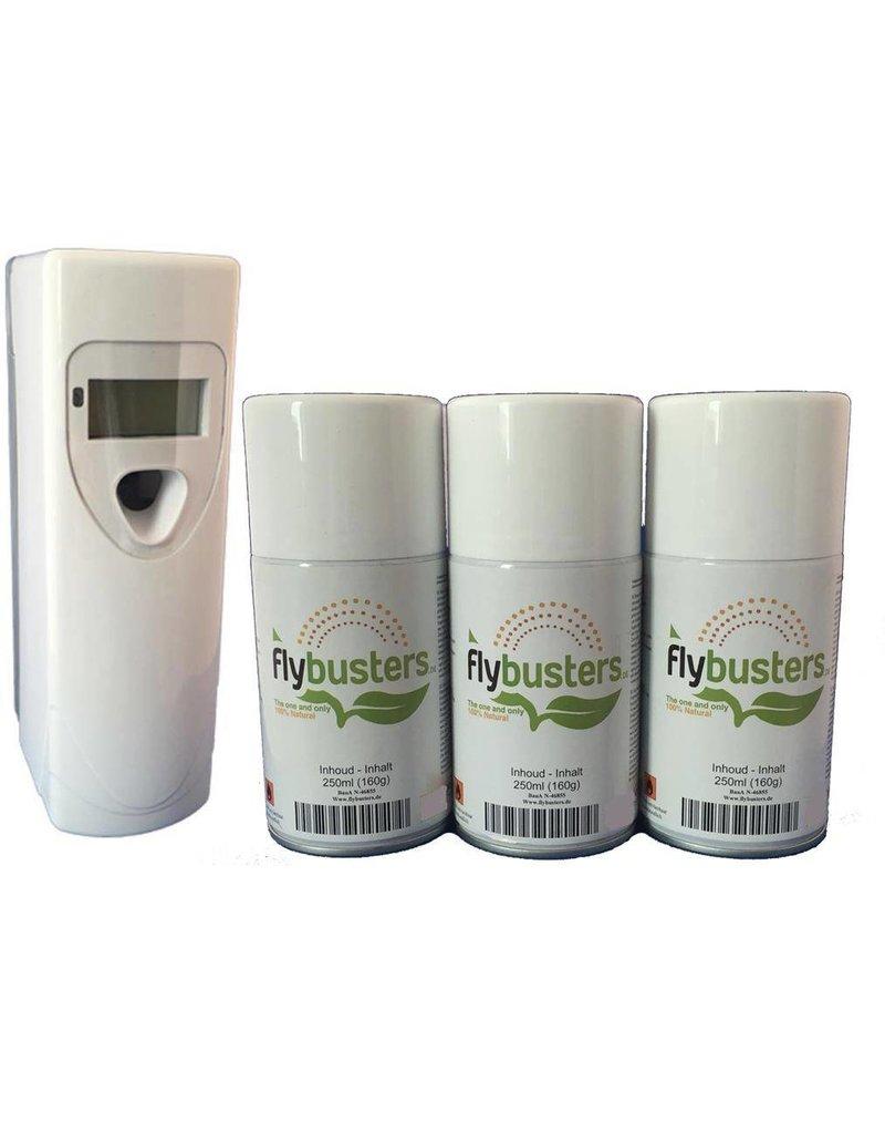 Distributeur Flybusters à affichage digital + 3 recharges
