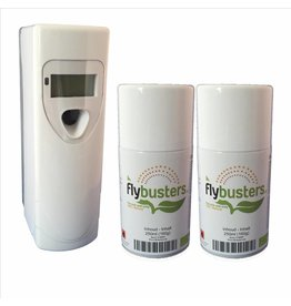 Distributeur Flybusters à affichage digital + 2 recharges