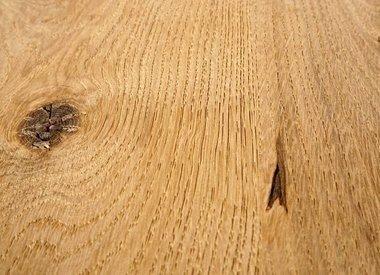 Tischplatte Eiche gebürstet