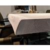 Tischplatte Wildeiche baumkante  - 4,5 cm dick - verschiedene Größen - 2-lagig rundum verdickt - Asteiche (rustikal) - Eiche Tischplatte mit  natürlichen Baumkant - Verleimt & künstlich getrocknet (HF 8-12%)