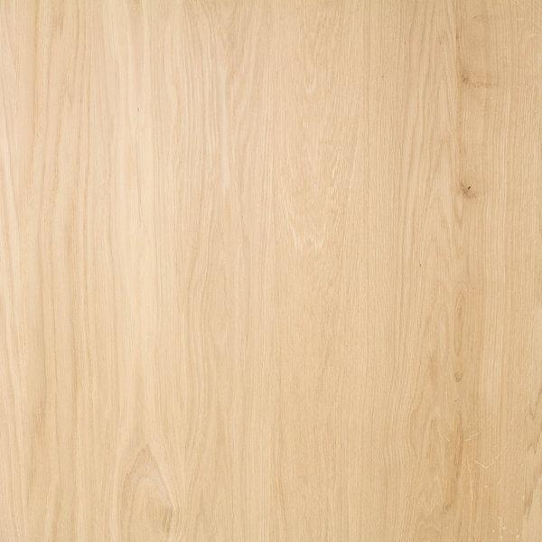Arbeitsplatte Eiche - 4 cm dick - 122x140-300 cm - Eichenholz A-Qualität
