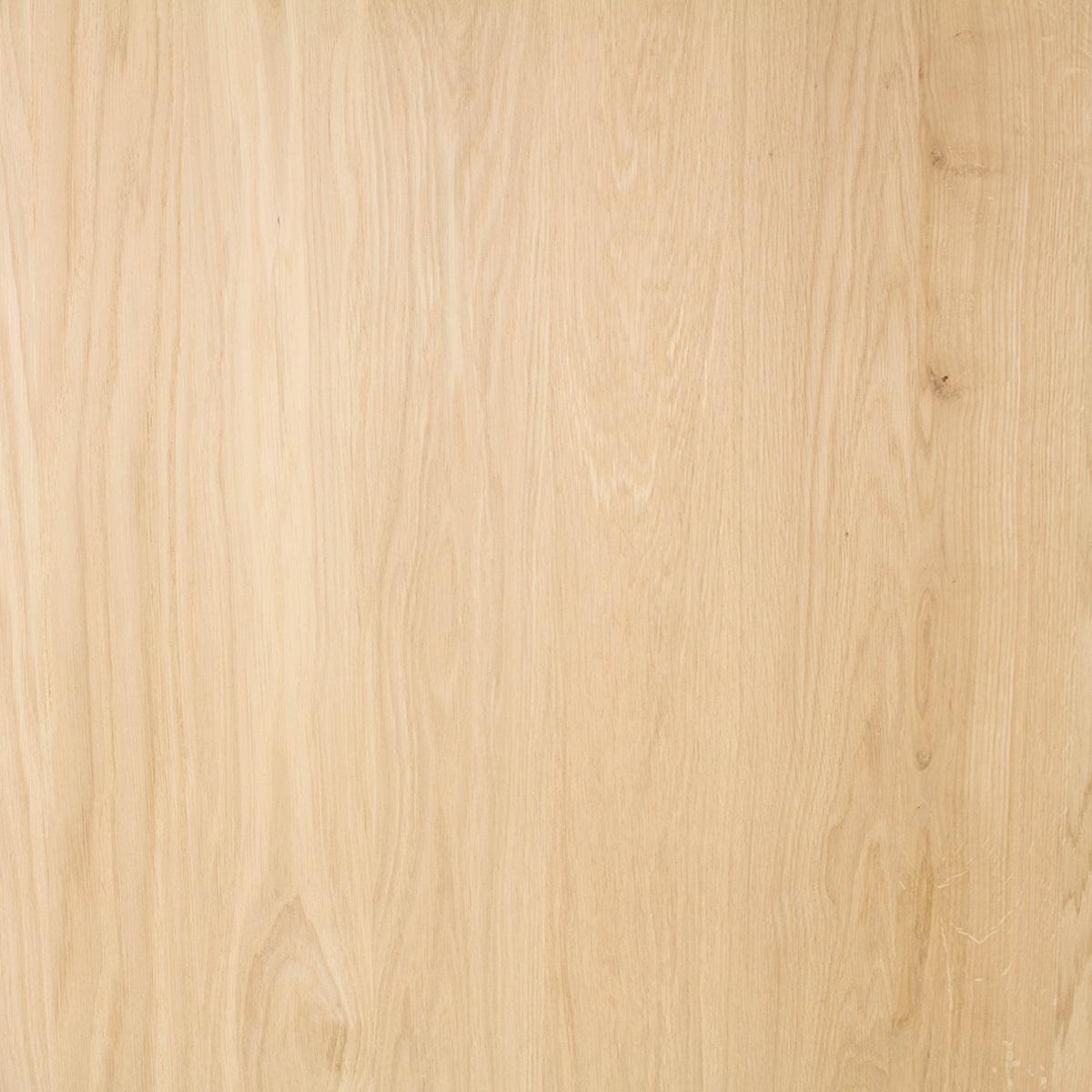 Arbeitsplatte Eiche massiv - 4 cm dick - 122x140-300 cm - Eichenholz A-Qualität - Massivholz - Verleimt & künstlich getrocknet (HF 8-12%)