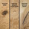 Tischplatte Eiche oval - 6 cm dick (3-lagig) - Eichenholz rustikal ellipse - Gebürstet - Eiche Tischplatte aufgedoppelt - verleimt & künstlich getrocknet (HF 8-12%)