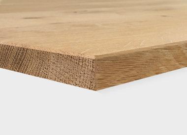 Tischplatte Eiche 20 mm (1 Schicht)