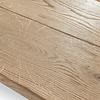 Tischplatte Wildeiche klassisch- eckig - 4,5 cm dick -  verschiedene Größen -Asteiche (rustikal) - Gebürstet mit V-fugen - Eiche Tischplatte - Verleimt & künstlich getrocknet (HF 8-12%)