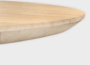 Tischplatte Eiche mit schweizer Kante