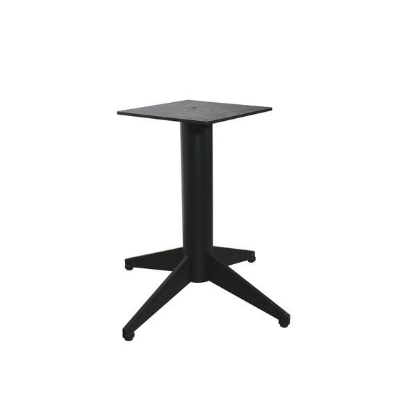 Tischgestell Metall 4-Fuß - 80x80 cm breit - 72 cm hoch