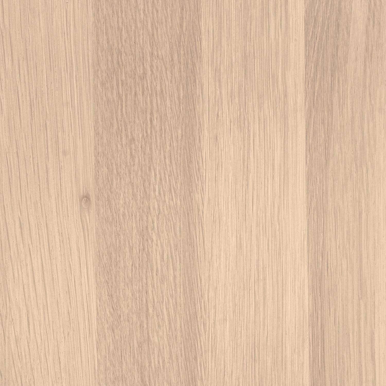 Wandregal Eiche schwebend - mit Schweizer Kante - nach Maß - 4 cm dick - Eichenholz A-Qualität - vorgebohrtes eichen Wandboard massiv - inklusive (Blind) -Halterungen - verleimt & getrocknet (HF 8-12%) - 15-27x50-300 cm