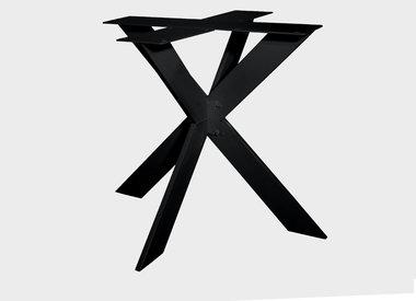 Tischgestell doppelt X