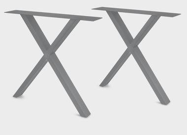 Tischbeine Edelstahl