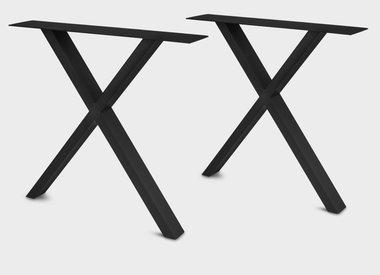 Tischbeine schwarz