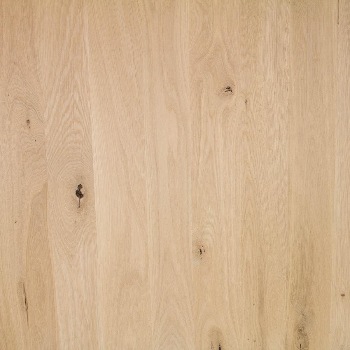 Tischbeine Eiche 10x10 cm -78 cm hoch - Massiv verleimt - Rustikal Eichenholz künstlich getrocknet HF 12%