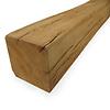 Alte Eichenbalke (gealtert) 90x90 mm - Gehobelt, gebürstet & geräuchert - Europäisches Eichenholz rustikal - natürlich getrocknet (HF 20-25%)