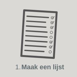 Stap 1: Maak een lijst