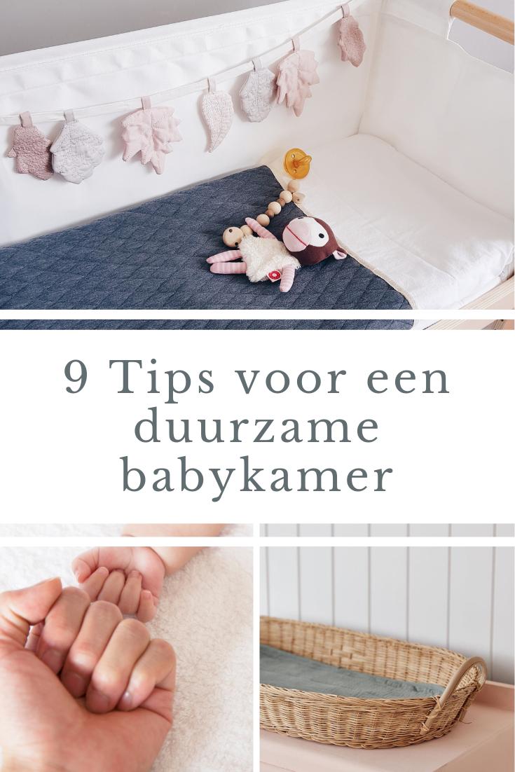 9 Tips voor een duurzame babykamer