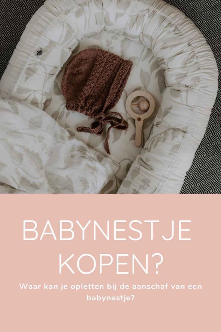Waar moet je opletten bij het kopen van een babynestje?