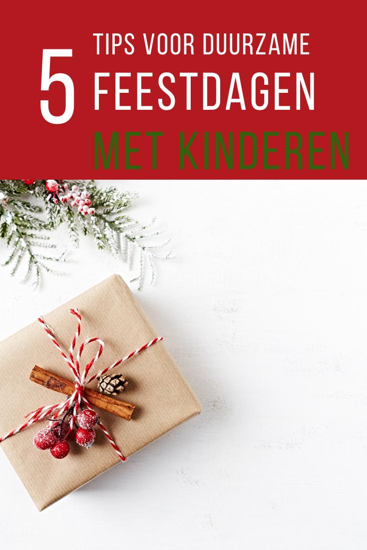 Duurzame feestdagen met kinderen