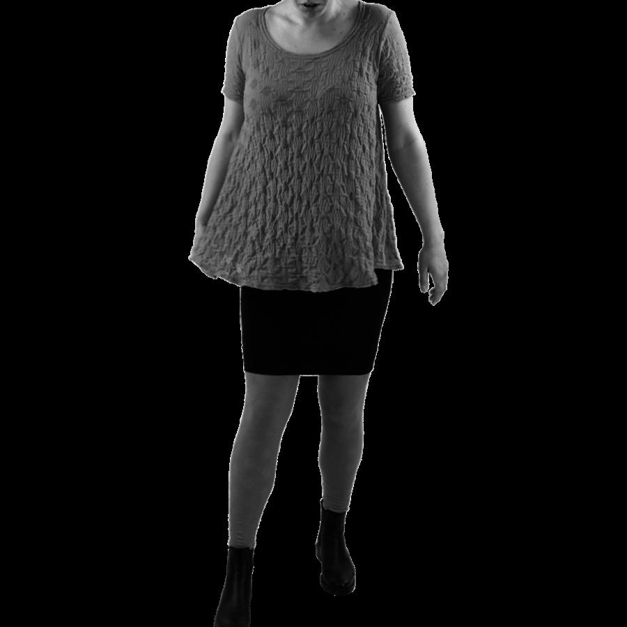 A-lijn shirt balletje k.m.-1
