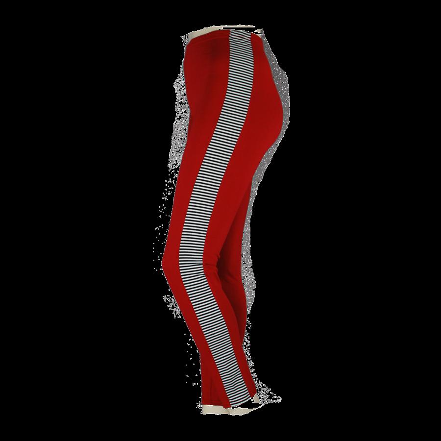 Legging combi streep-2